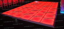 Shanghai event best selling portable LED illuminated color changing acrylic led dance floor