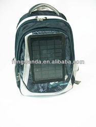 Newest multifunctional fashion solar rechargeable bag