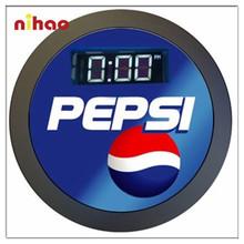 2015 Design Round Digital Nght Light Wall Clock