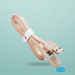 2 in 1 usb cable for iphone and samsung, for iphone cable , for micro cable