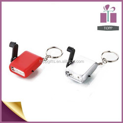 Wholesale Two LED Mini Key Ring Light Dynamo LED key light