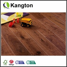Mixed grade Smoothed American Black Walnut Matt Lacquered Oak Engineering Hardwood Floor
