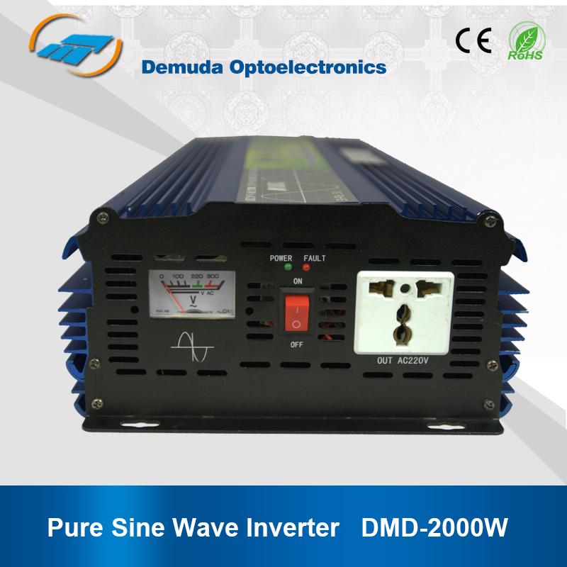 high frequency off grid pure sine wave dc ac 12v 24v 2000w 220v 50hz 60hz portable inverter. Black Bedroom Furniture Sets. Home Design Ideas