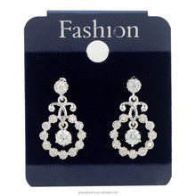 Fascinating And Beautiful CZ Chandelier Light Weight Bridal Earring