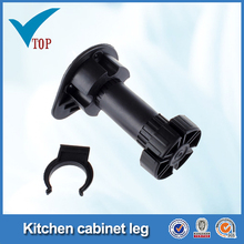 Plastic furniture feet for kitchen cabinet