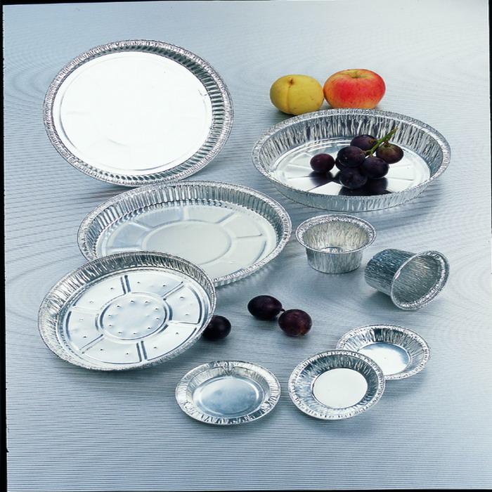 Jetable Aluminium foil container pour d'emballage alimentaire avec le meilleur prix
