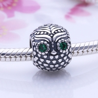 Antique 925 Sterling Silver Tibetan Silver Charm Cute Origami Owl Floating Charms Hand Made Supplies Fit DIY UK Jewelry Making