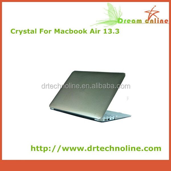 13.3 Size and PVC Material crystal case for macbook air