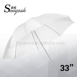 "33"" Photo Soft translucent umbrella Diffuser white umbrella Studio Flash reflective umbrella"
