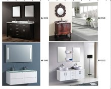 modern soild wood bathroom cabinet set bathroom vanity