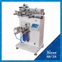 HA-2A high quality pneumatic screen printing machine for containers,tubes,bottles
