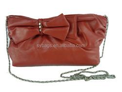 hot popular fashion leather lady bags / latest design bags women / long pu lady bag wholesale