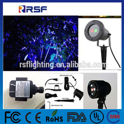 Star+heart+babysbreath dot laser LED stage light Voice control automatic for Home Party KTV Disco RGB laser light