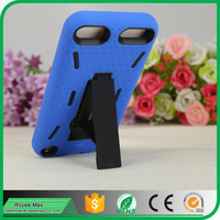 soft silicone+hard pc protector case hybrid kickstand case for ipod touch5 alibaba trade assuarance