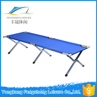 Best quality design military folding camping bed,folding single bed,army camping bed
