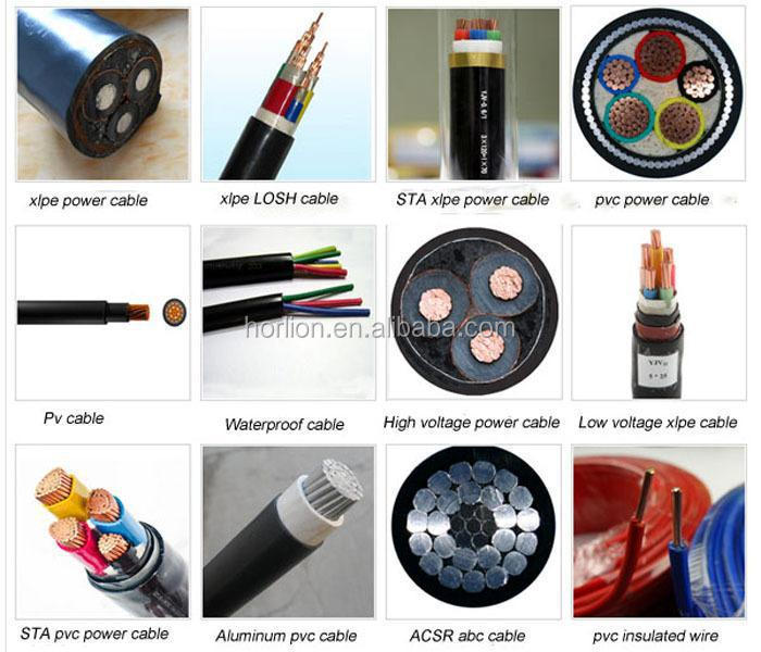 Low To High Voltage Xlpe Electrical Power Cables 35kv 66kv 110kv ...