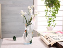 Chinese Style Cranes Pattern Ceramic Vase
