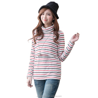 Hot Maternity clothes Winter and Autumn Breastfeeding Top Thermal Heating Cotton fiber Nursing tops for Pregnant Women M L XL