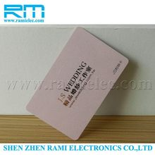 new product 915Mhz UHF printing smart card long range from China