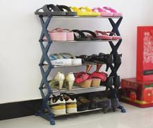 4 Tier stackable Shoe Rack Shelf Stand Tower Storage Organizers