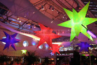 Innovative customized decoration stage inflatable star