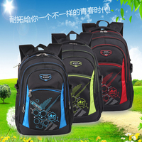 2015 wholesale black school bag for teenagers with light weight and High Capacity backpack