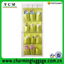 grocery wall hanger storage bag with many pockets
