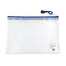 2015 waterproof customized logo document mesh bag