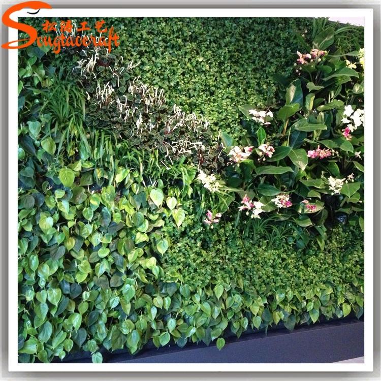 Wholesale Plastic Vertical Garden Green Wall Combination