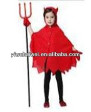Nifty and red devil for little girl