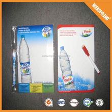 Fashion writable pen magnets waterproof portable magnetic whiteboard