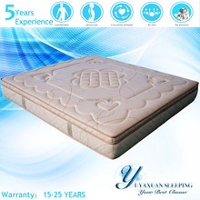 Coconut Palm Memory Foam Pocket Spring Mattress Cheap Bbedroom Furniture