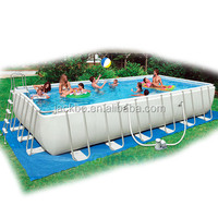 2015 new design frame or round or rectangular plastic pool