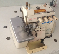 High quality Used Juki Mo-6700 Series Overlock Upholstery Sewing Machines For Sale