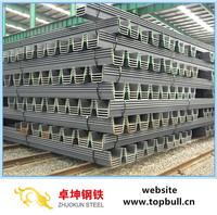 Steel Sheet Pile,Sheet Piling Prices by Tangshan Jinxi