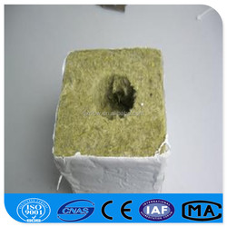 High Permeability Soilless Culture Rock wool Cube for Agriculture