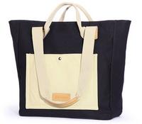 Custom printed stylish canvas shopping bag for teens