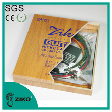 Best Quality Colourful Coated Bulk Acoustic Guitar Strings