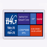 4G Tablet PC Android 4.4 Tablet PC 4G SIM card slot 4G LTE Tablet PC 10 inch