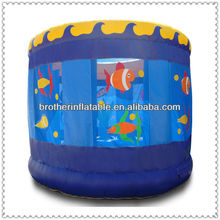 Sea cucumber ocean world inflatable cage