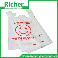 promotional HDPE/LDPE smiley face plastic bags