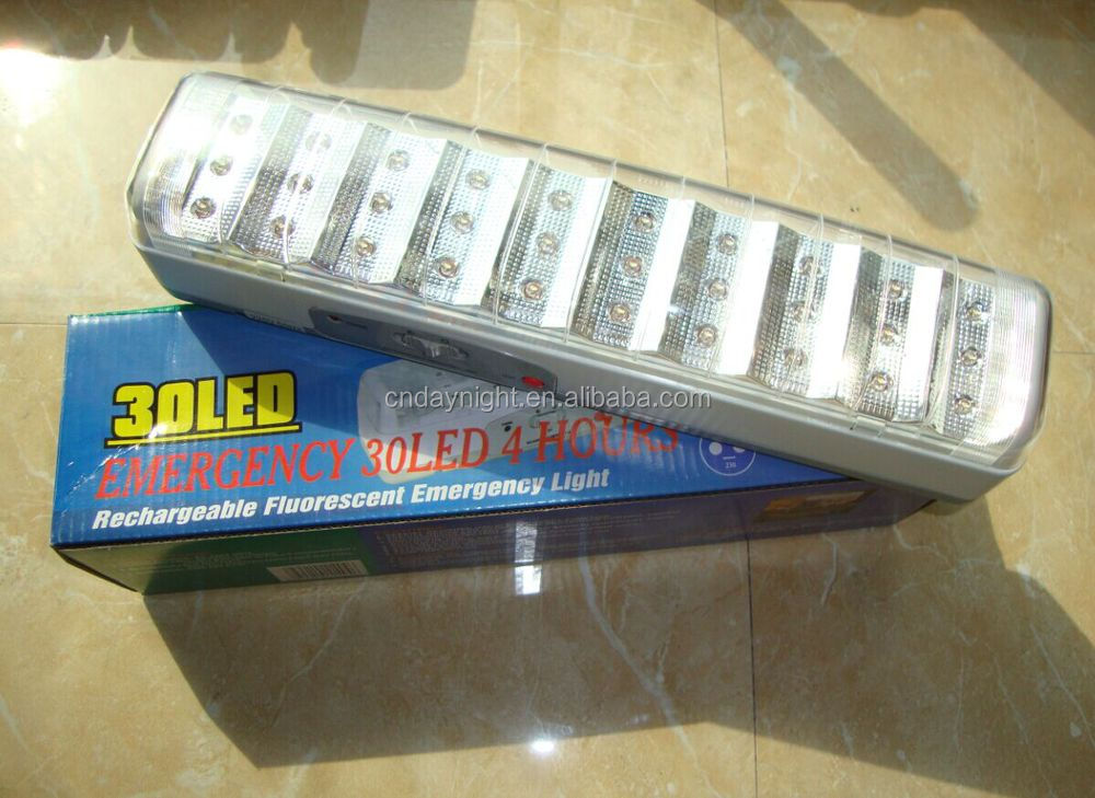 High quality110-240V 30pcs Emergency led light,rechargeable emergency lamp Model238L