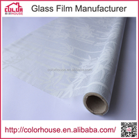pattern printed bamboo self-adhesive pvc glass decorative film