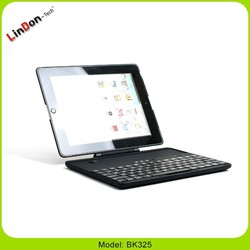 Rotate Bluetooth Wireless Keyboard Smart Cover for ipad 2nd generation