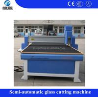 High speed CNC control any shaped machine glass cutting