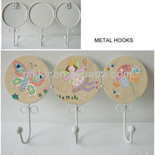 Retro clothes hook door hang&Cute colthing hangers&Vintage shabby chic furniture