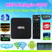 2015 New Amlogic S812 M8S Android TV Box ENY EM8S M8S Quad Core
