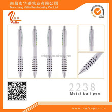 Top selection,Factoyr supply,white click ball pen