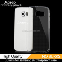 Buy 300 get 50 free transparent phone case for samsung galaxy s6