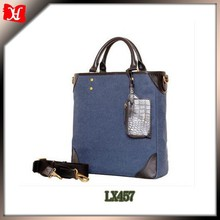 Fashion and simple hot selling canvas tote bag ,handbag